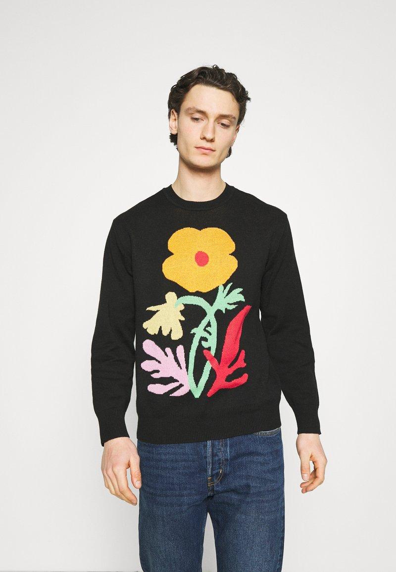 Obey Clothing - TRACES  - Jersey de punto - black multi