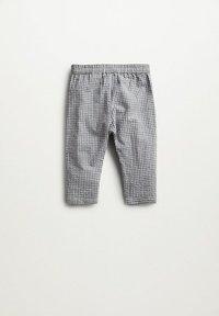 Mango - Trousers - grijs - 1