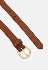 Zign - LEATHER - Belt - cognac - 1