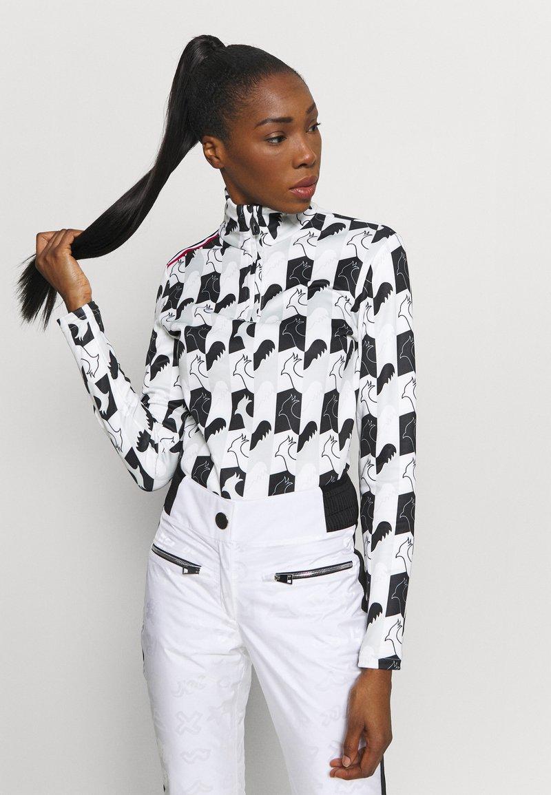 Rossignol - PALMARES ZIP - Long sleeved top - light grey