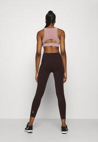 Sweaty Betty - POWER WORKOUT 7/8 LEGGINGS - Leggings - black cherry/purple - 2