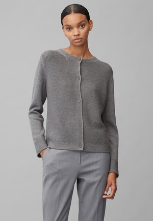 Strickjacke - middle stone melange
