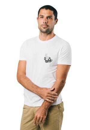 APPEAL - Print T-shirt - white