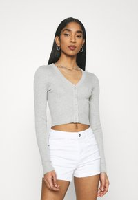 Even&Odd - Cardigan - mottled light grey - 0