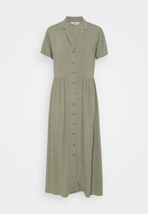 ENNAPLES DRESS - Maxi dress - deep lichen green