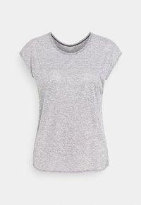 Salomon - SHORT SLEEVE TECH TEE  - T-shirt con stampa - black - 0