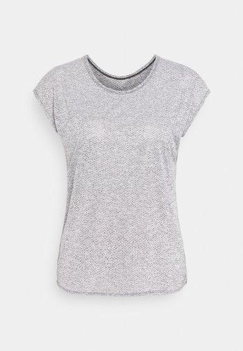 SHORT SLEEVE TECH TEE  - T-shirt print - black