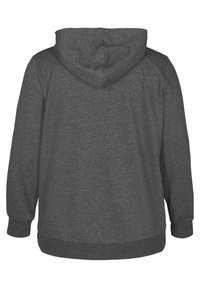 Active by Zizzi - Felpa aperta - dark grey - 6