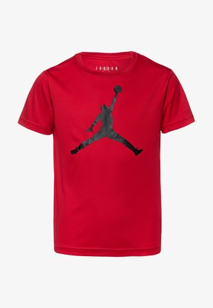 JUMPMAN LOGO - T-shirt z nadrukiem - gym red