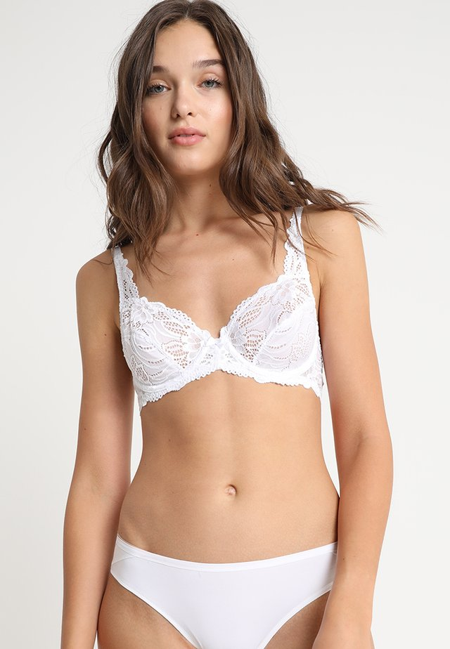 ANGIE NON PADDED BRA - Underwired bra - white