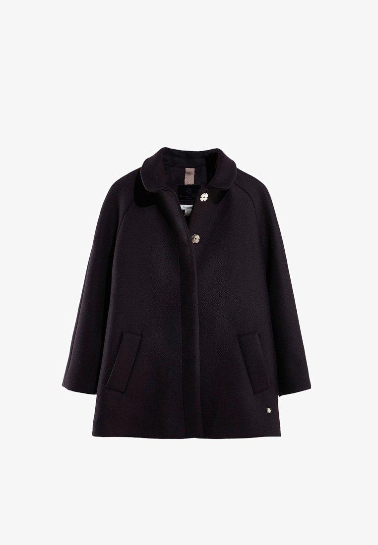 Massimo Dutti - Classic coat - dark blue