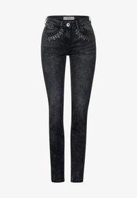 Cecil - Straight leg jeans - schwarz - 3