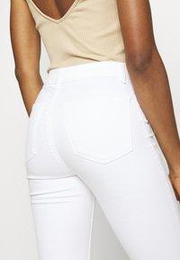 Topshop - JONI  - Jeans Skinny Fit - white - 4