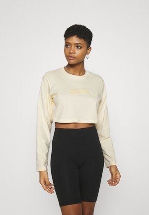 Long sleeved top - yellow dusty light