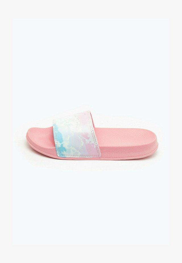 CLOUD FADE - Pool slides - pink