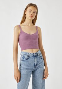 PULL&BEAR - Top - mottled pink - 0