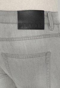 INDICODE JEANS - TONY - Jeans slim fit - light grey - 5