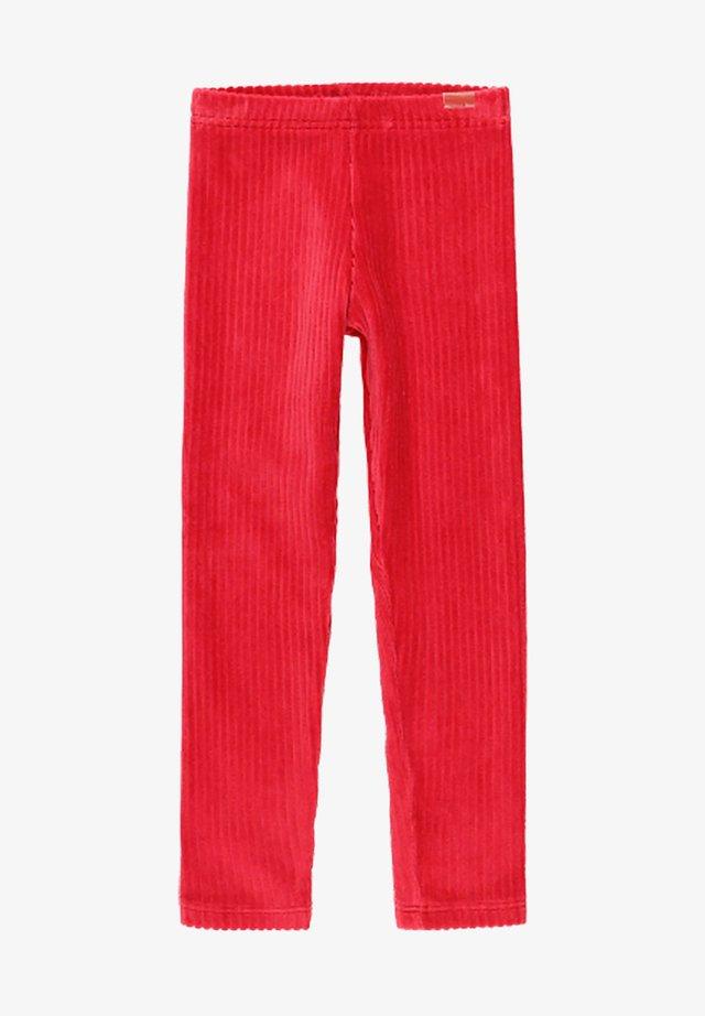 Leggings - Trousers - ruby red