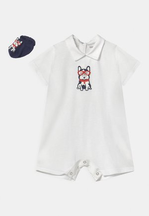 BABY BULLDOG SET - Jumpsuit - bianco
