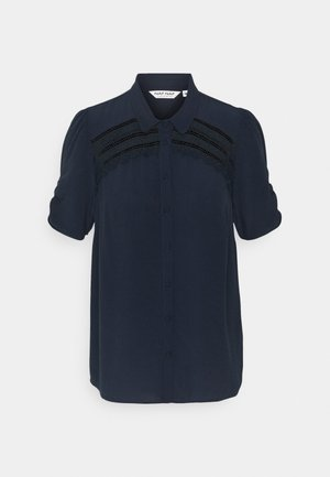HAMA - Button-down blouse - bleu marine