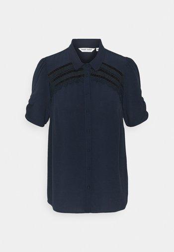HAMA - Button-down blouse - bleu marine