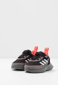 adidas Performance - RAPIDARUN ELITE - Neutral running shoes - core black/footwear white/solar red - 3