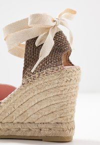 Copenhagen Shoes - KEILA - Sandały na obcasie - beige - 2