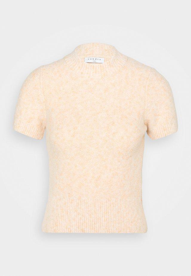 T-shirt basic - beige/rosé