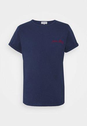 CLASSIC TEE PARIS CALLING - T-shirt print - navy