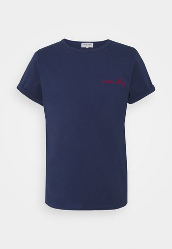 CLASSIC TEE PARIS CALLING - Print T-shirt - navy