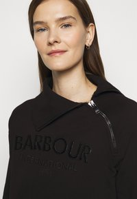Barbour International - ECLIPSE OVERLAYER - Sweatshirt - black - 4