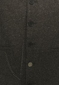 Shelby & Sons - CRANTON WAISTCOAT - Waistcoat - brown - 6