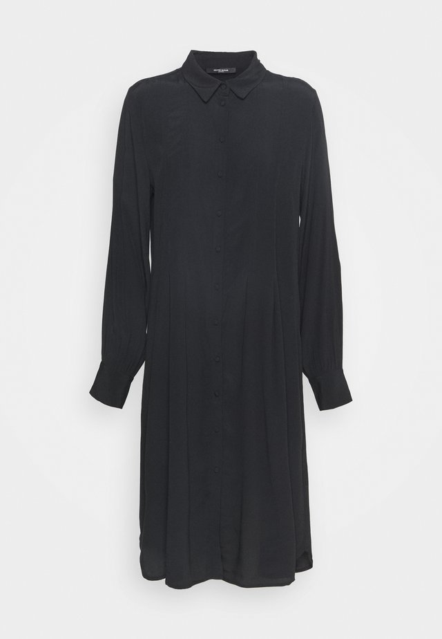 LILLI VALENTINA  - Shirt dress - black