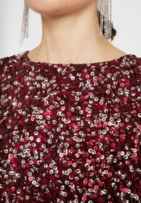 Lace & Beads - LETTY - Bluser - burgundy - 5