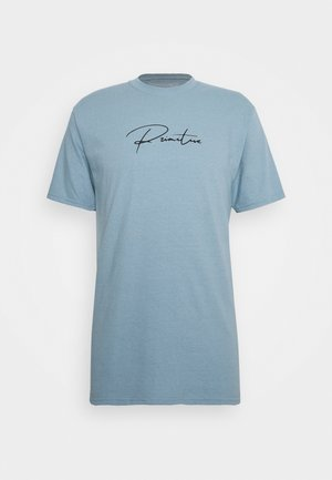 SHADOW TRUNK TEE - Print T-shirt - slate