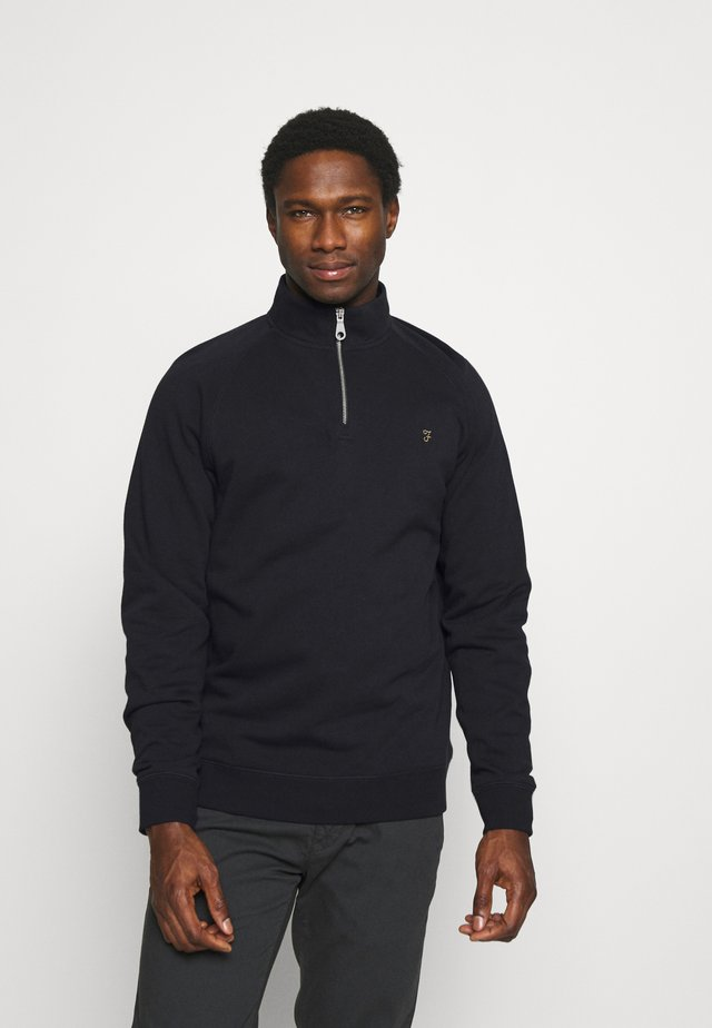 JIM ZIP - Sweatshirt - true navy