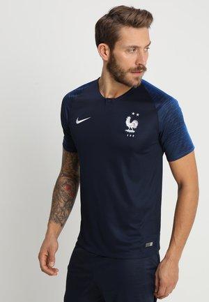 FFF EQUIPE DE FRANCE - National team wear - obsidian/white