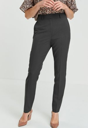 SLIM TROUSERS - Trousers - grey