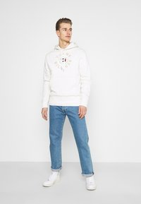 Tommy Hilfiger - ICON COIN HOODY - Sweatshirt - ivory - 1