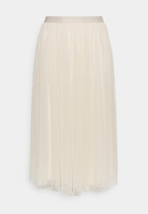 KISSES MIDAXI SKIRT - A-line skirt - champagne