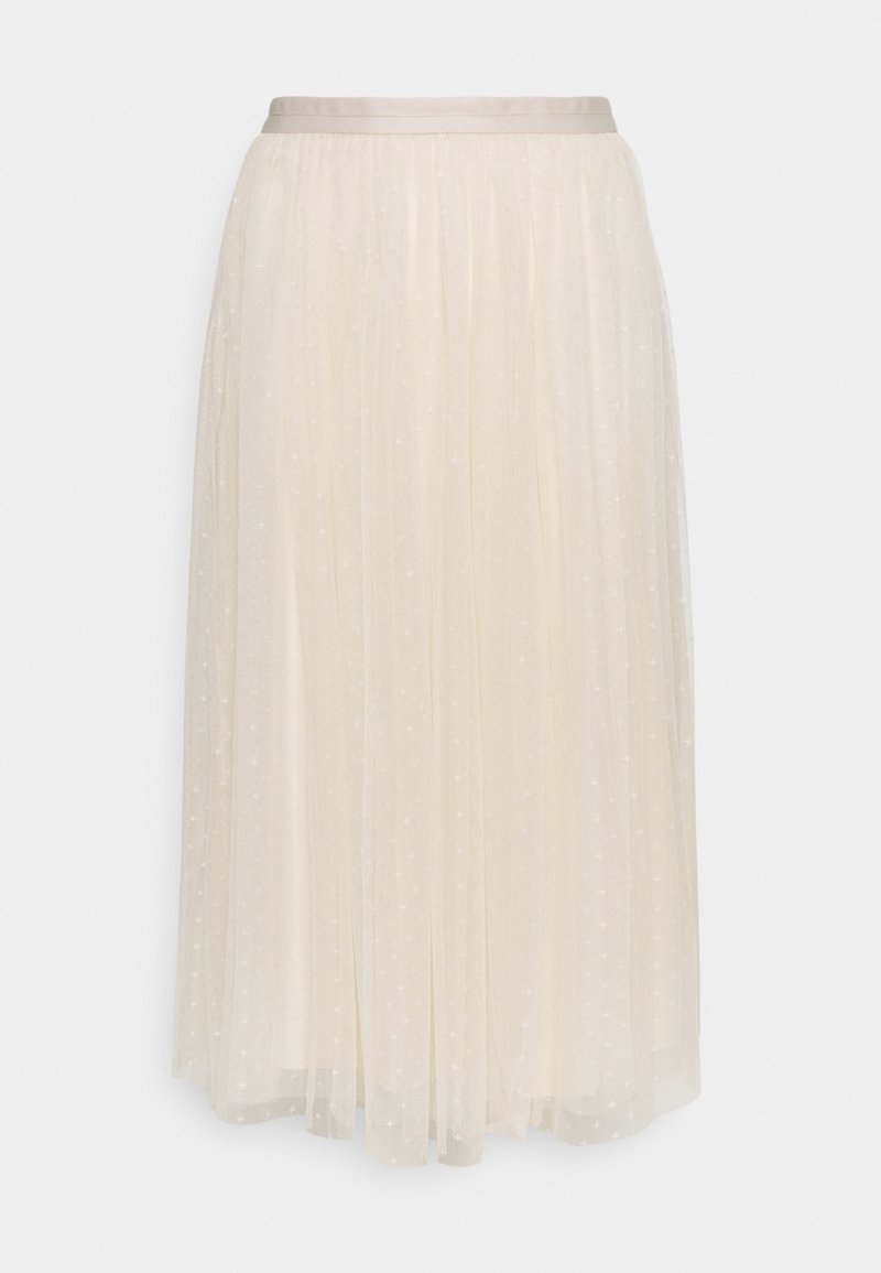 Needle & Thread - KISSES MIDAXI SKIRT - A-line skirt - champagne