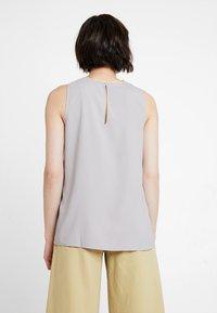 KIOMI - Blouse - light grey/orange - 2