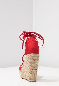 RAID - MAREA - High heeled sandals - red - 5