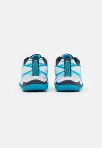 Lotto - MIRAGE 300 JR UNISEX - Zapatillas de tenis para todas las superficies - blue bay/navy blue/all white - 2