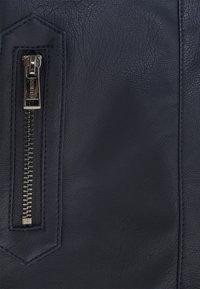 Guess - JACKET - Faux leather jacket - bleu/deck blue - 2