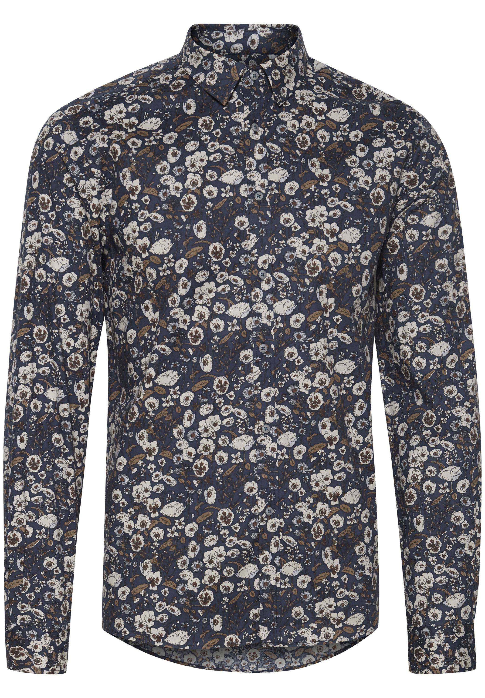 Tailored Originals Hemd - Bone Brown