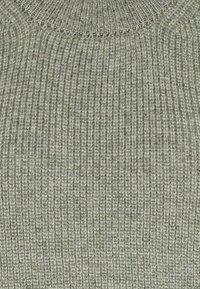 ONLY Tall - ONLPARIS LIFE - Stickad tröja - kalamata/melange - 2