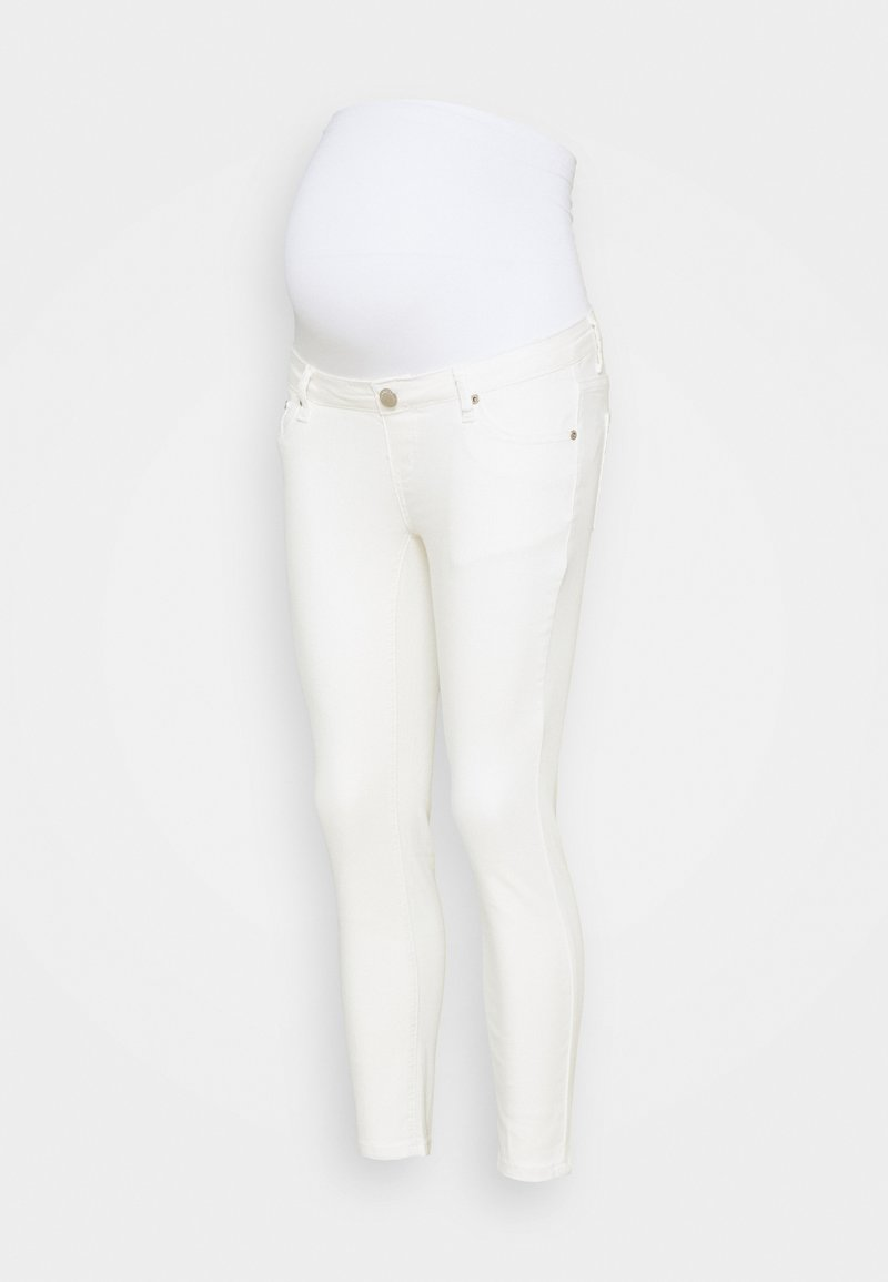 Glamorous Bloom - BLOOM SKINNY - Skinny džíny - white