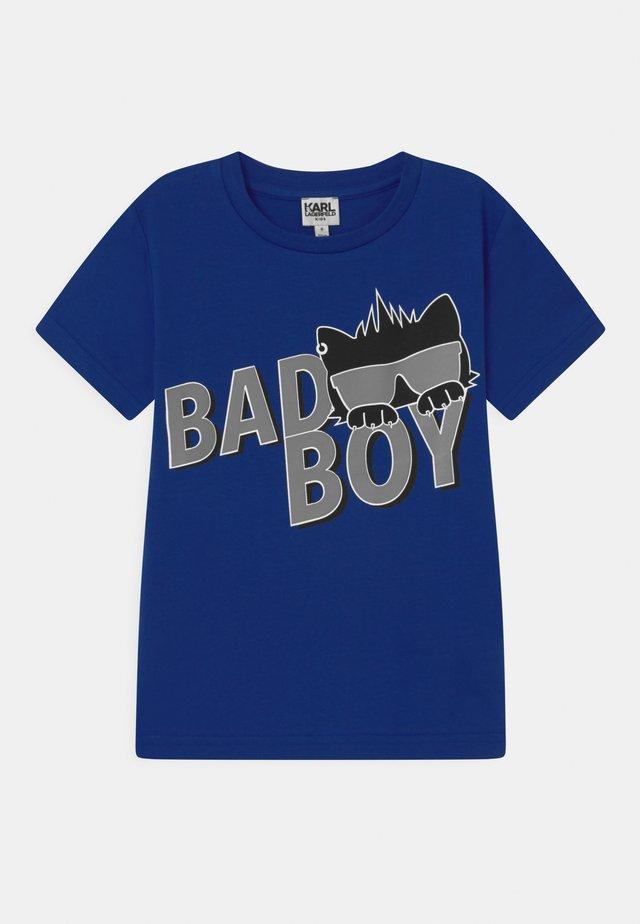 SHORT SLEEVES - T-shirt imprimé - electric blue