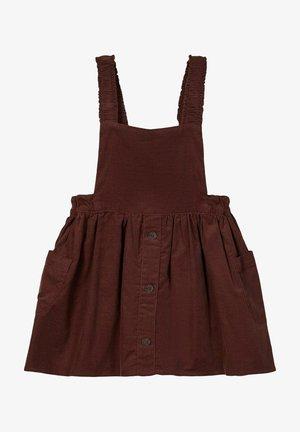 Korte jurk - deep mahogany